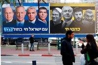 spanduk pemilu israel